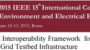 DDS Based Interoperability Framework for Smart Grid Testbed Infrastructure