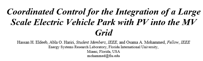 Electric Vehicle Park