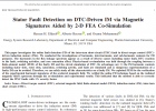 Stator Fault Detection on DTC-Driven IM via Magnetic Signatures Aided by 2-D FEA Co-Simulation