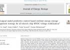 Small-signal model predictive control based resilient energy storage management strategy for all electric ship MVDC voltage stabilization