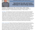 Operational Security and Control Challenges in Smart Energy Systems